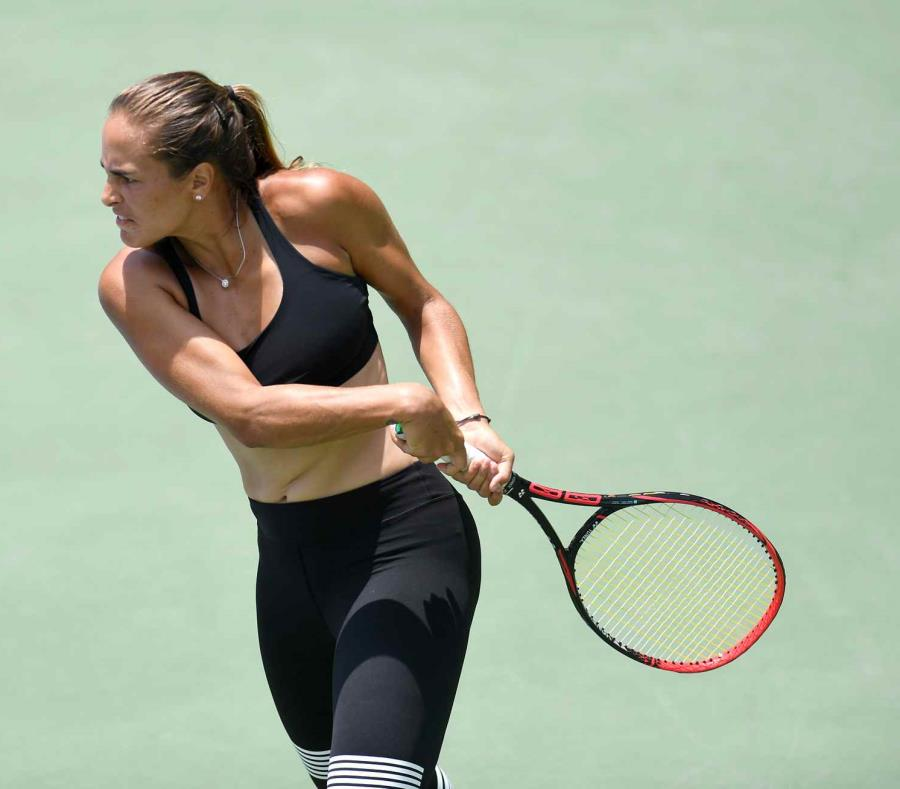 En la foto está Mónica Puig Marchán, tenista boricua. (semisquare-x3)