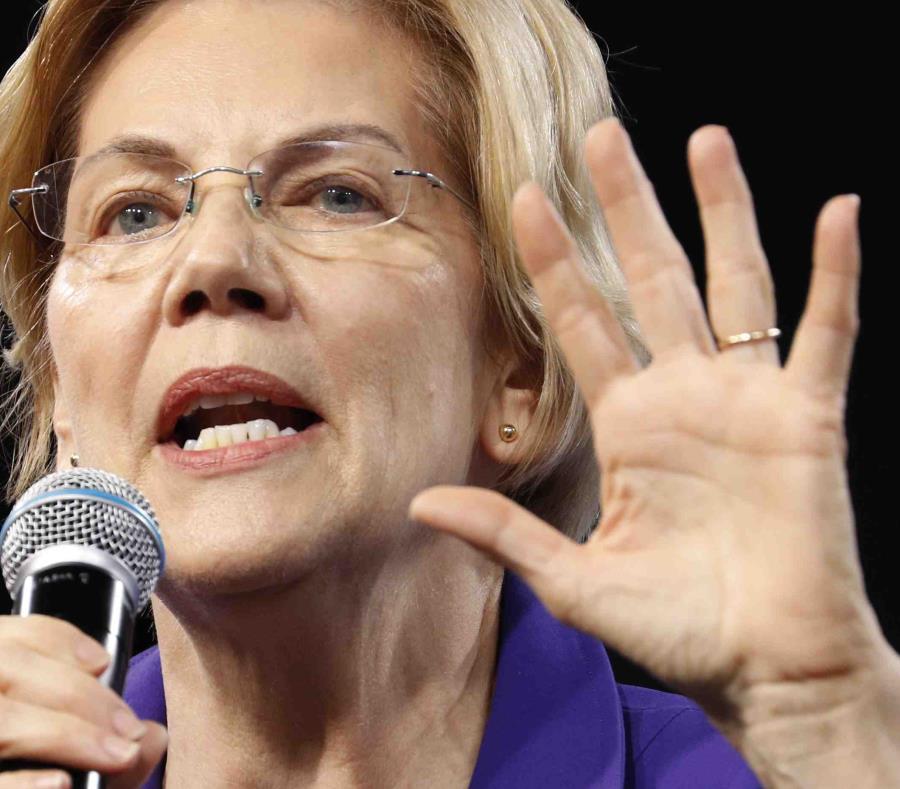 La senadora y precandidata presidencial demócrata Elizabeth Warren indicó que la medida ofrece a los territorios