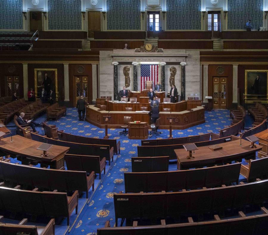 El hemiciclo de la Cámara de Representantes de Estados Unidos. (GFR Media) (semisquare-x3)