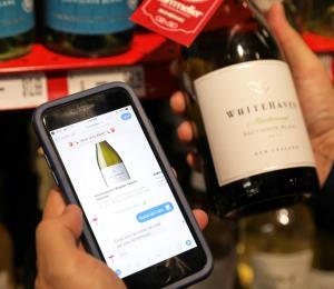 Supermercado integra app de sumiller virtual