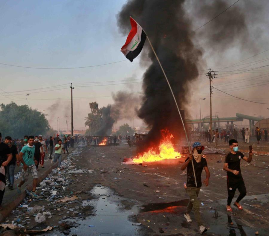 Resultado de imagen para protestas en irak