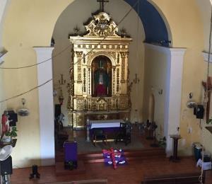 Tradición católica y africana en parroquia de Loíza