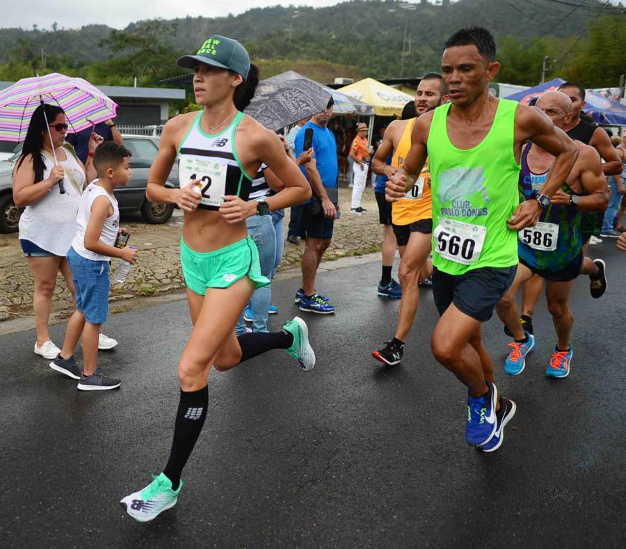 Beverly Ramos hizo tiempo de 1:23:26. (GFR Media / Luis Alcalá del Olmo) (semisquare-x3)