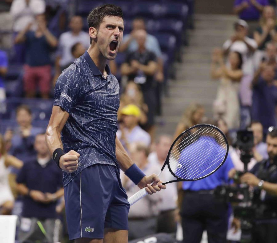 Novak Djokovic celebra su victoria. (AP) (semisquare-x3)