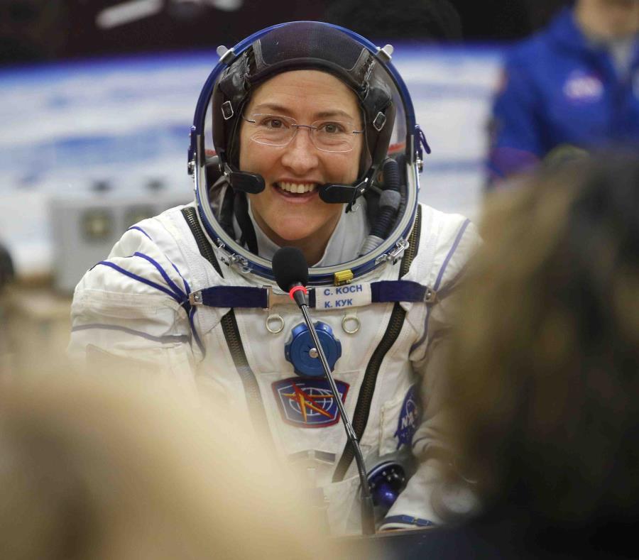 Se bate el récord de una mujer en el espacio: 289 días