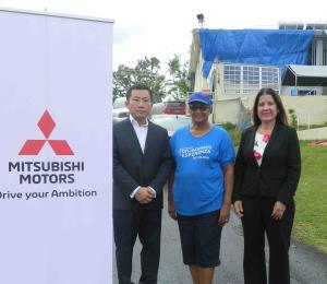 Mitsubishi Motors Corporation brinda apoyo a las víctimas del huracán