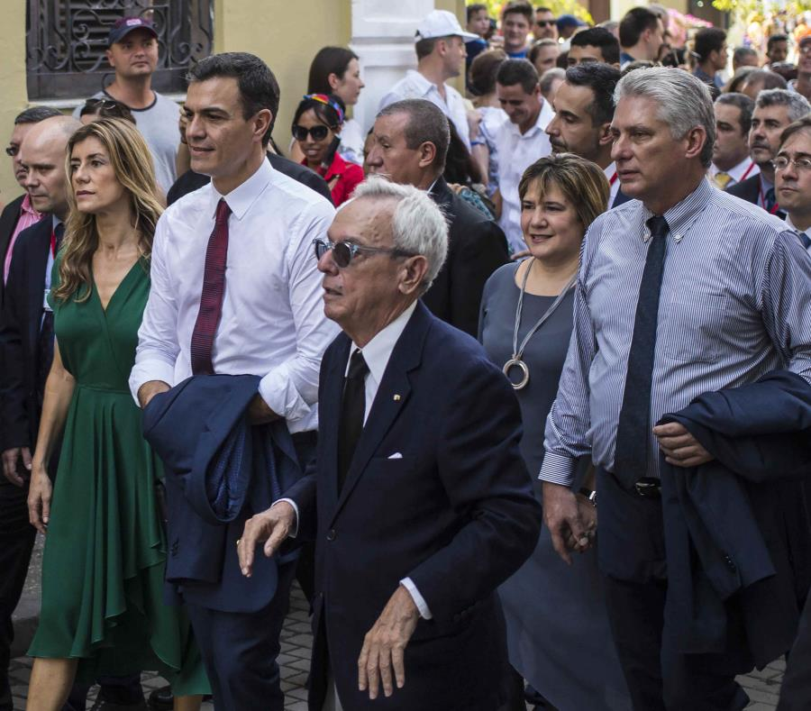 Jefe de gobierno, Pedro Sánchez, viaja a Cuba — España