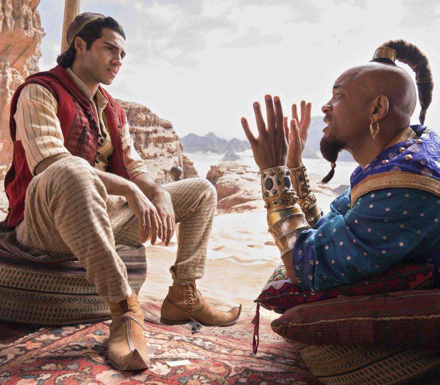 Aladdin recaudó US$200 millones en su primer fin de semana