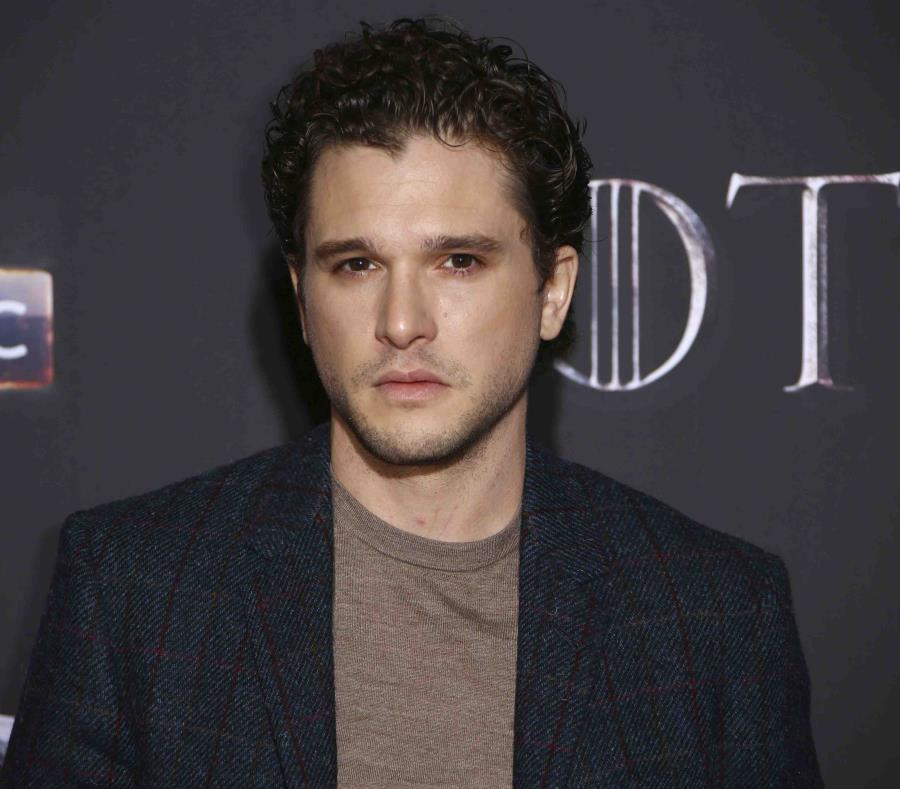El actor Kit Harington en la premier de