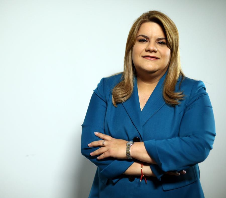 La comisionada residente, Jenniffer González, está convencida que la gente está validando su trabajo, pese a los duros momentos que ha vivido la Isla en el último año. (GFR Media) (semisquare-x3)