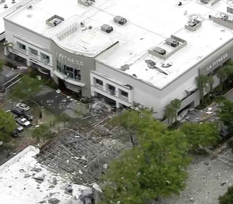 Se registra explosión en mall de Florida