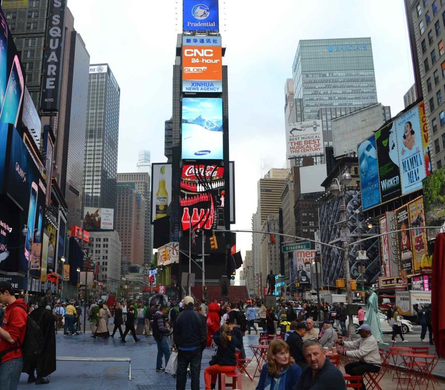 Policía detiene a un hombre que quería atentar en Times Square