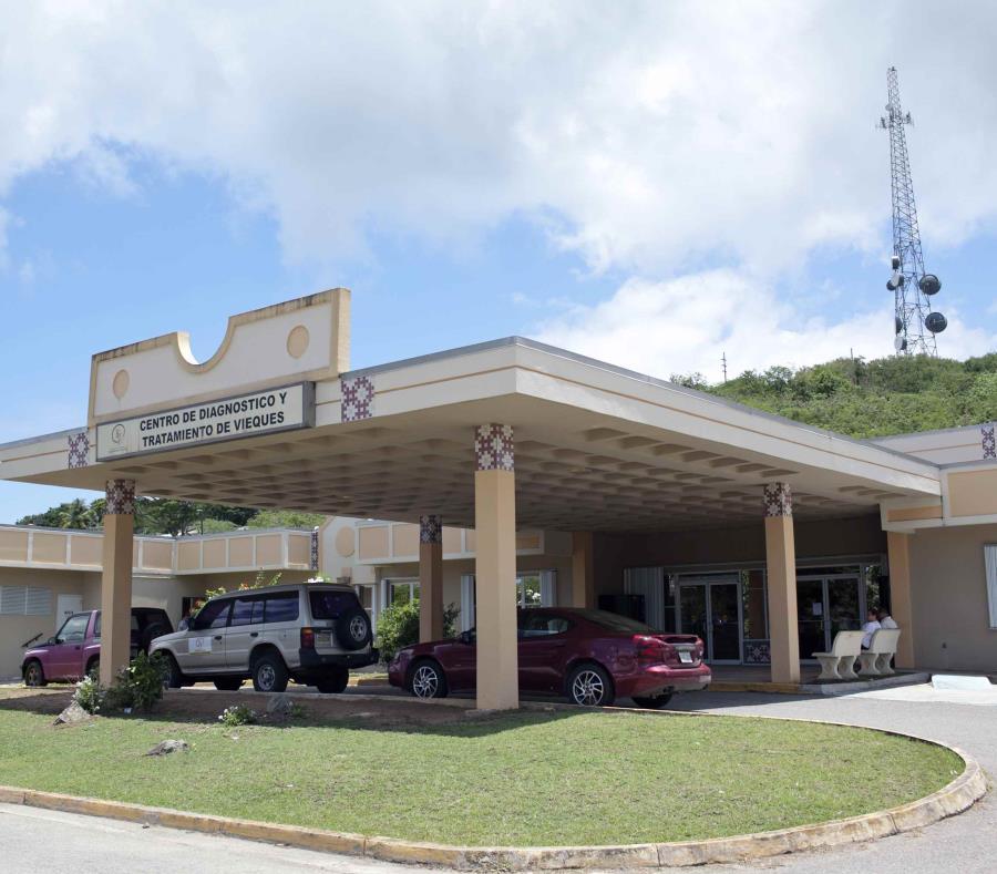 La imagen de archivo muestra las instalaciones del Centro de Diagnóstico y Tratamiento (CDT) de Vieques. (GFR Media) (semisquare-x3)