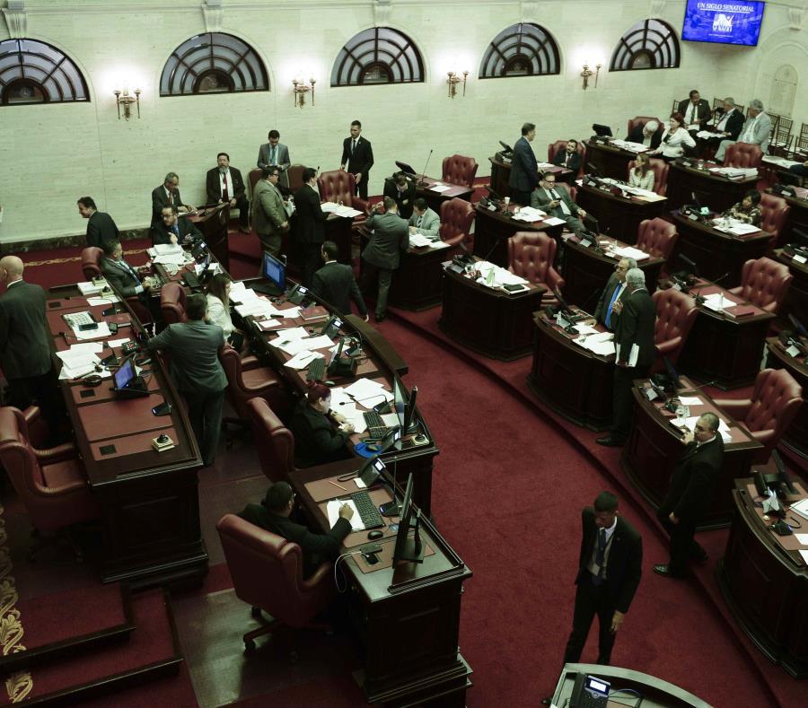 El hemiciclo del Senado en el Capitolio (semisquare-x3)