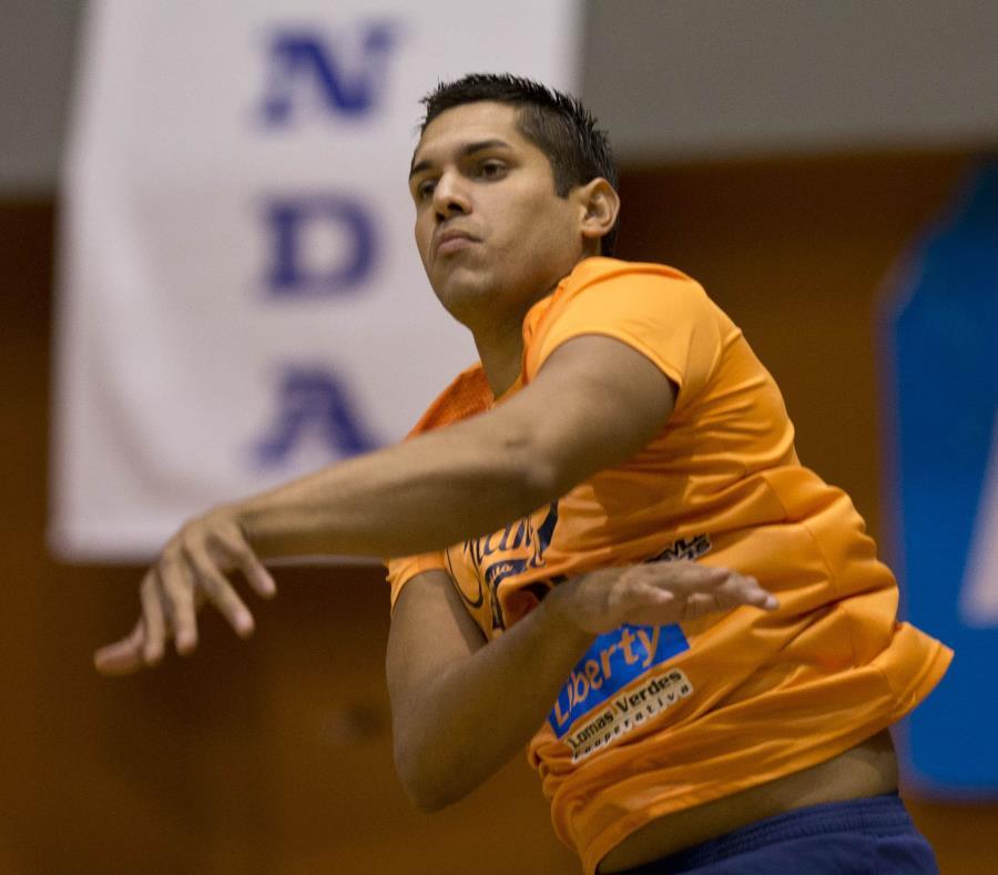Naranjito fue encabezado por Juan Vázquez, quien marcó 20 tantos, 17 en ataques y tres en bloqueos. (GFR Media) (semisquare-x3)