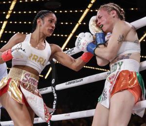 Amanda Serrano y su aula de boxeo simétrico