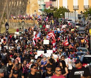Marcha por el renacer de Puerto Rico