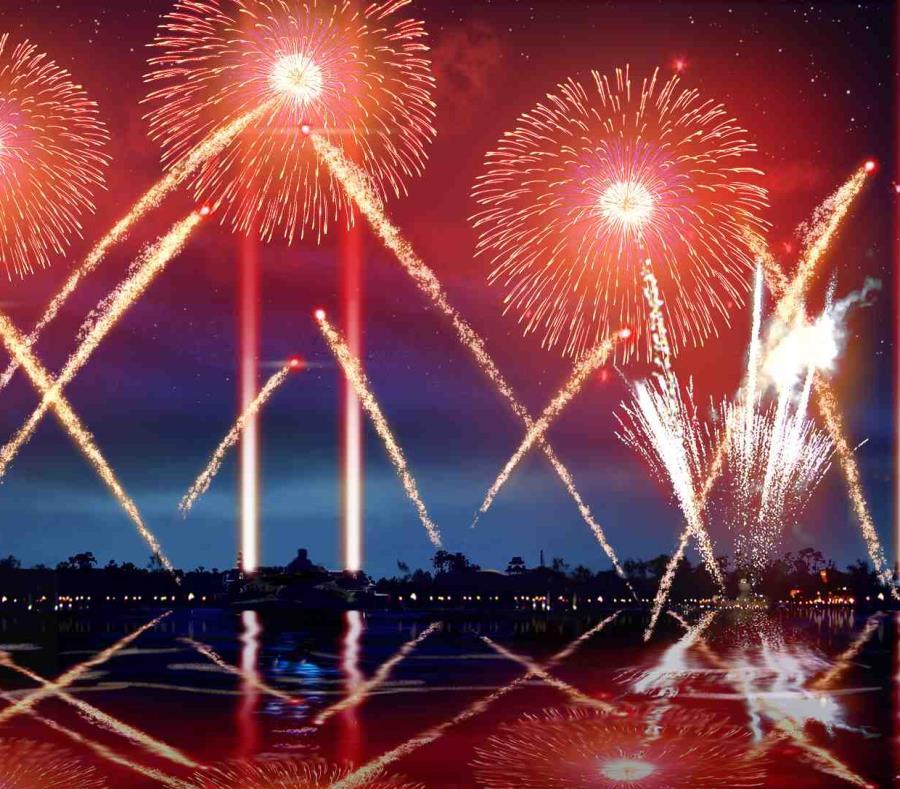 El nuevo espectáculo Epcot Forever contará también con luces, fuegos artificiales y laser en una coreografía llena de color. (Suministrada) (semisquare-x3)