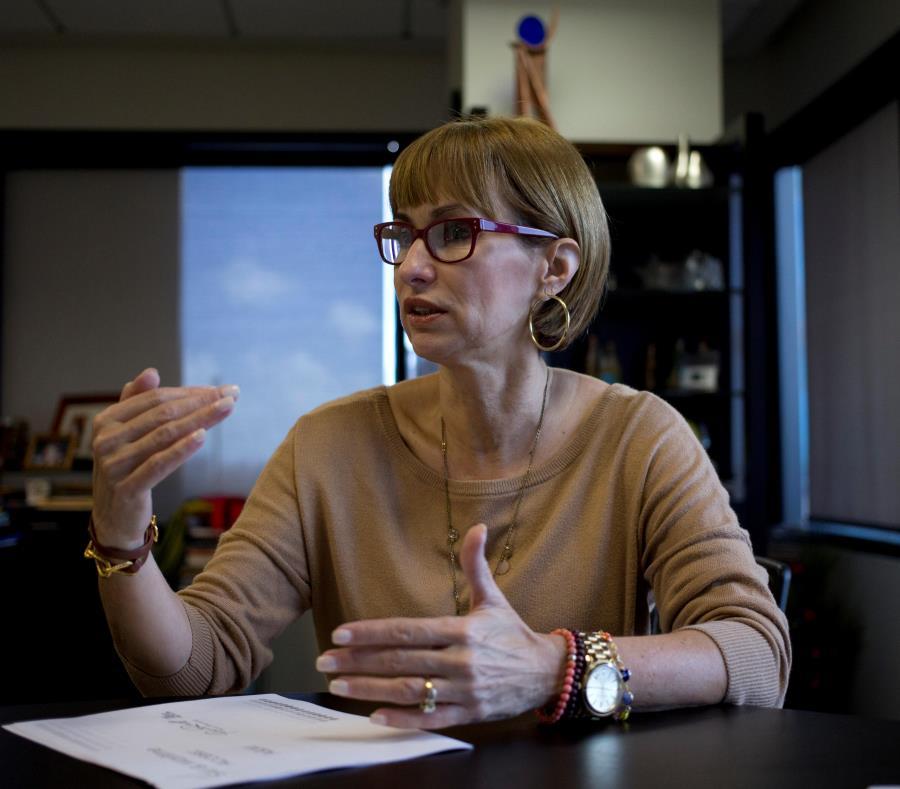 La principal oficial ejecutiva de la PRHTA, Clarissa Jiménez. (GFR Media) (semisquare-x3)