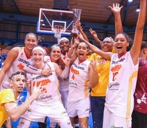 Las Gigantes extienden su dinastía en el baloncesto femenino