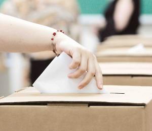 Un voto bajo una insignia es un cheque en blanco