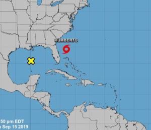 Humberto se fortalece camino hacia el norte y Bermudas debe estar atenta