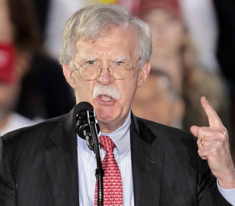 John Bolton, asesor de Seguridad Nacional de la Casa Blanca (GFR Media) (semisquare-x3)