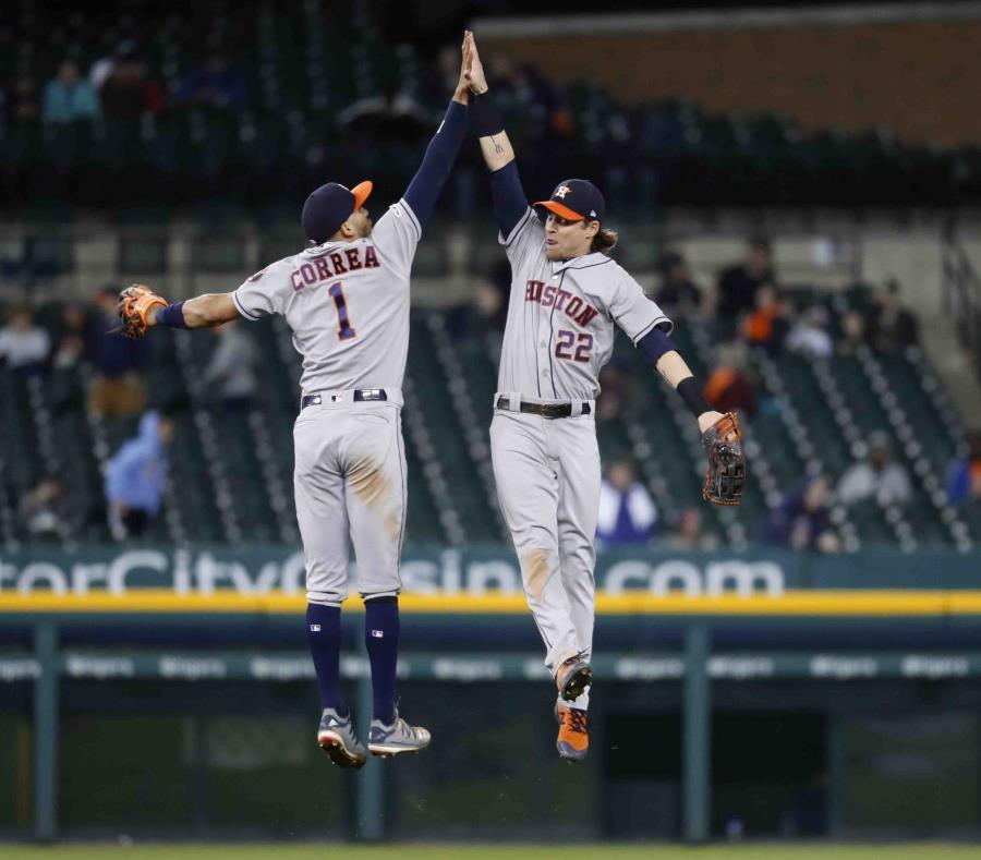 Astros vuelven a dar 4 HR y aplastan a Tigres