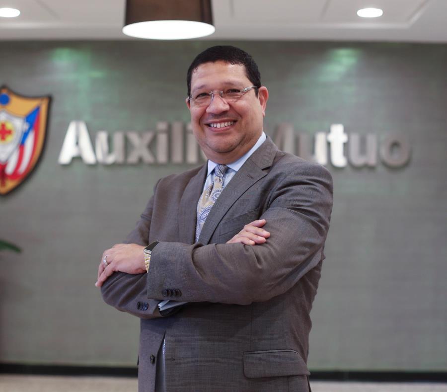 Carlos Santiago, CEO del nuevo plan médico corporativo Auxilio Salud Plus, del hospital Auxilio Mutuo. (semisquare-x3)