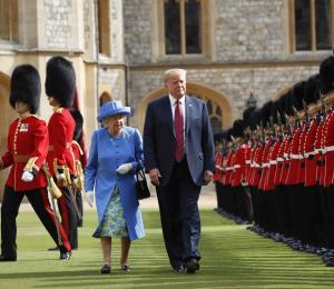 Trump acepta una invitación de la reina Isabel II para una visita de Estado en el Reino Unido
