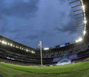 El estadio del Real Madrid será utilizado como centro de acopio