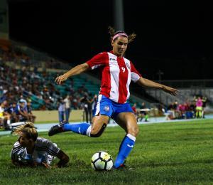 Resuena el reclamo de las futbolistas puertorriqueñas