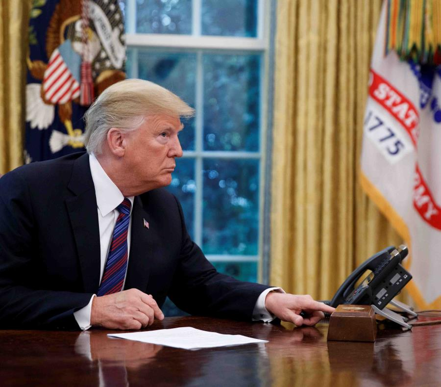 Donald Trump, presidente de Estados Unidos. (EFE) (semisquare-x3)