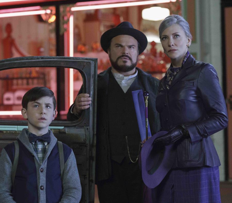Jack Black y Cate Blanchett en uan escena de la película. (AP) (semisquare-x3)