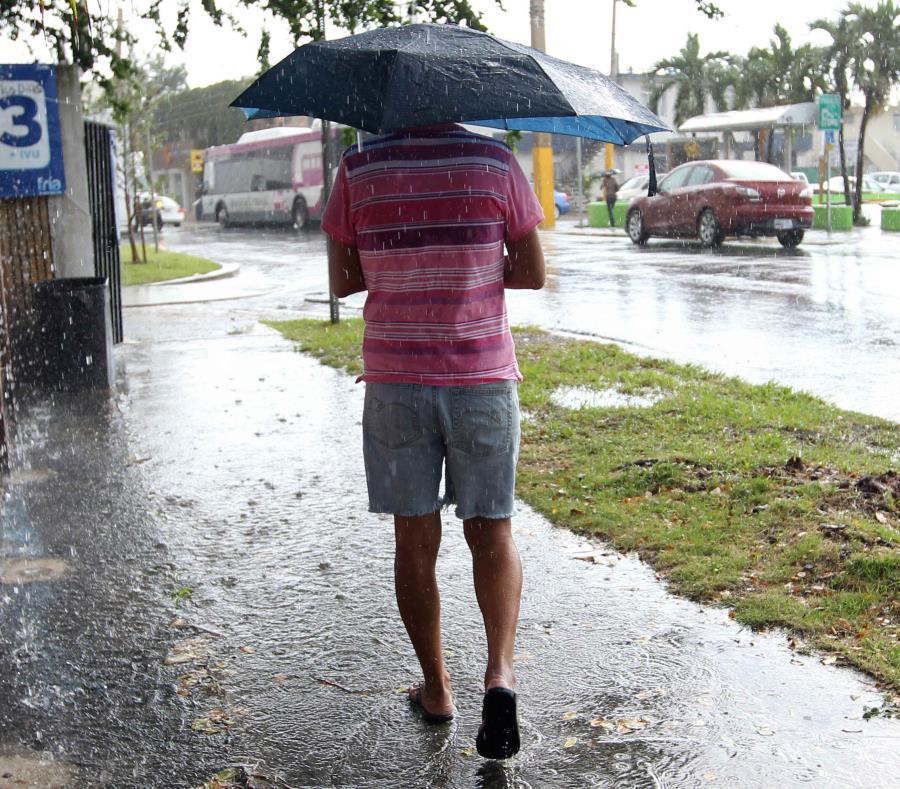 El Servicio Nacional de Meteorología prevé hasta media pulgada de lluvia. (GFR Media) (semisquare-x3)