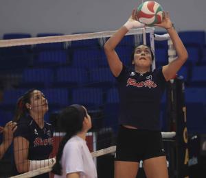 La voleibolista Raymariely Santos viajará a la isla desde Francia