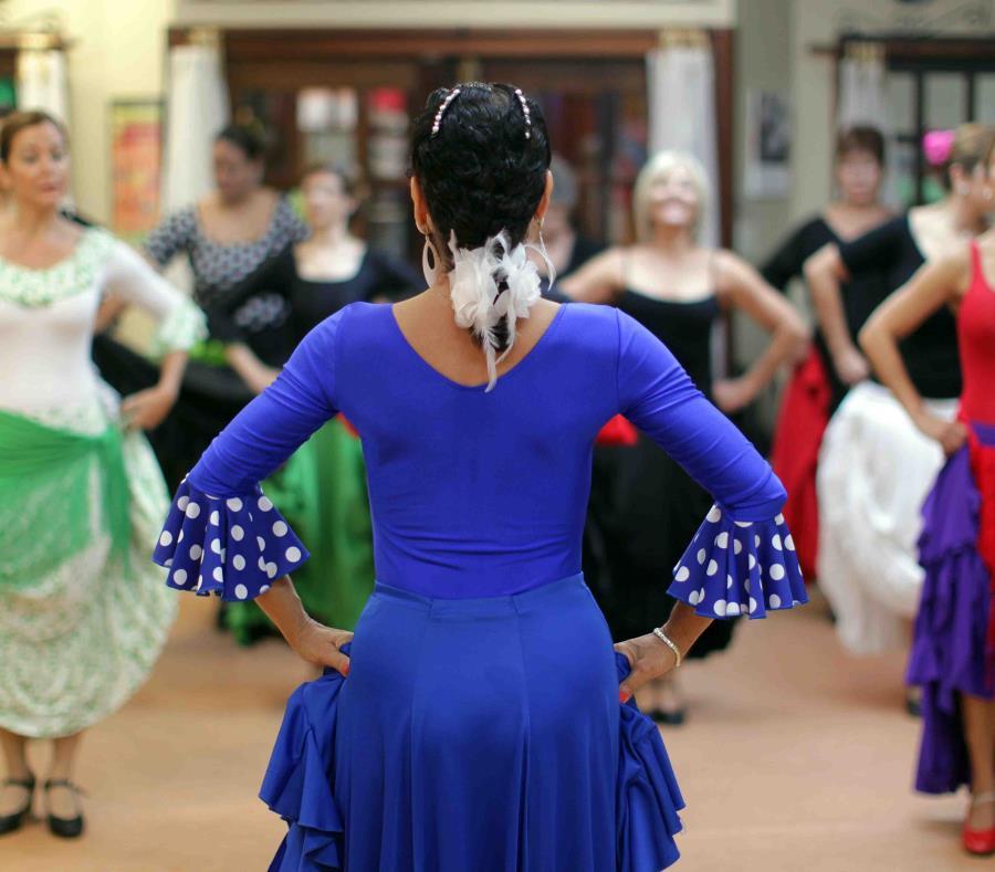 La imagen de archivo muestra una clase de flamenco. (GFR Media) (semisquare-x3)