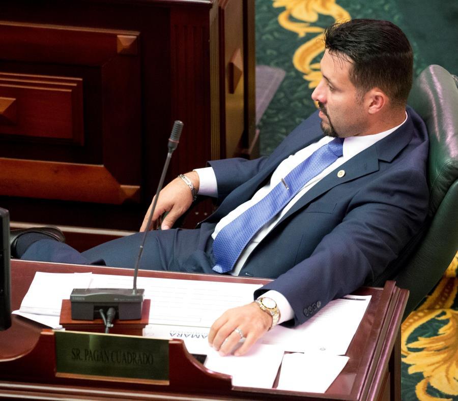 Samuel Pagán Cuadrado renunció a su silla en la Cámara de Representantes en medio de una investigación ética en su contra por el otorgamiento de presuntos contratos irregulares en la oficina de la comisión que presidía. (semisquare-x3)