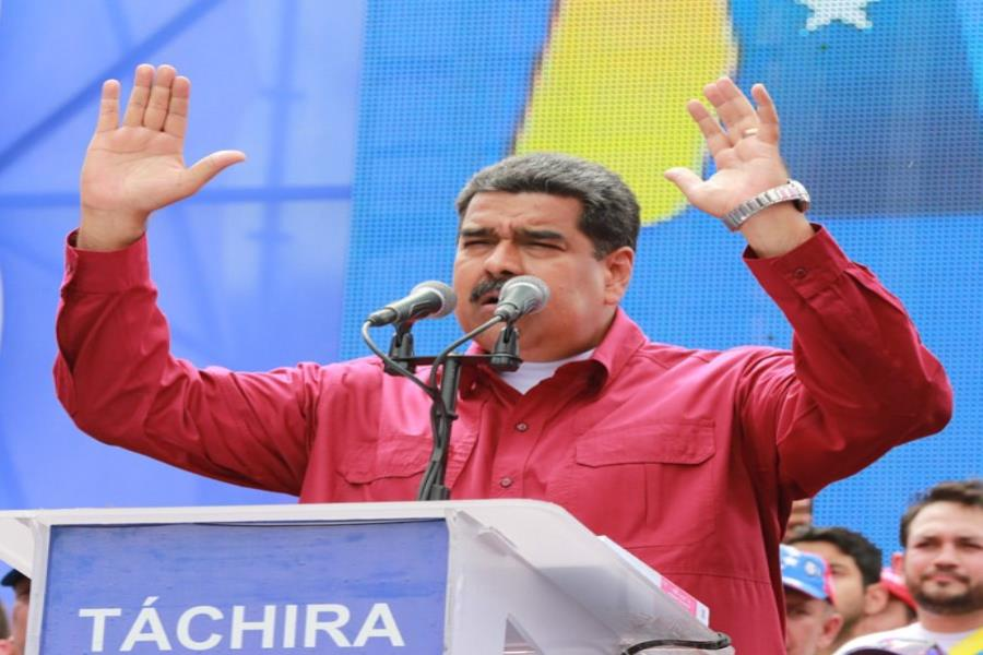 Nicolás Maduro reelecto (semisquare-x3)