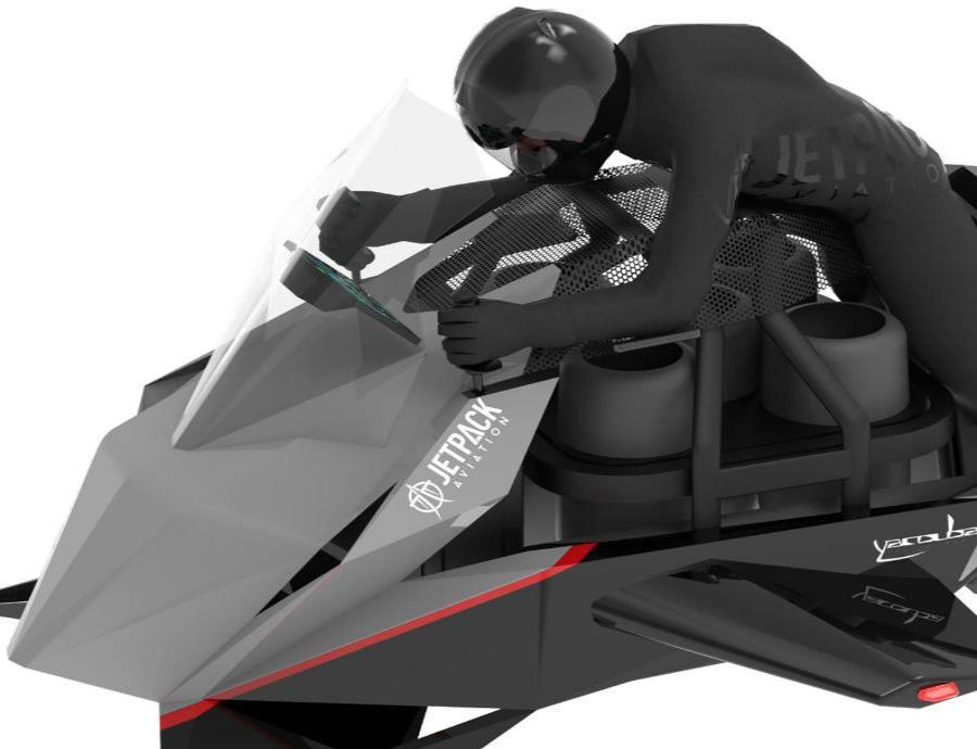 No se requerirá una licencia de piloto para controlar la versión ultraligera del Speeder. (semisquare-x3)