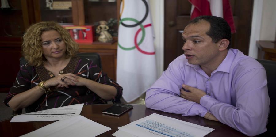 Sara Rosario y Jaime Lamboy dijeron que las aspiraciones de Puerto Rico para los Juegos siguen inalteradas. (horizontal-x3)