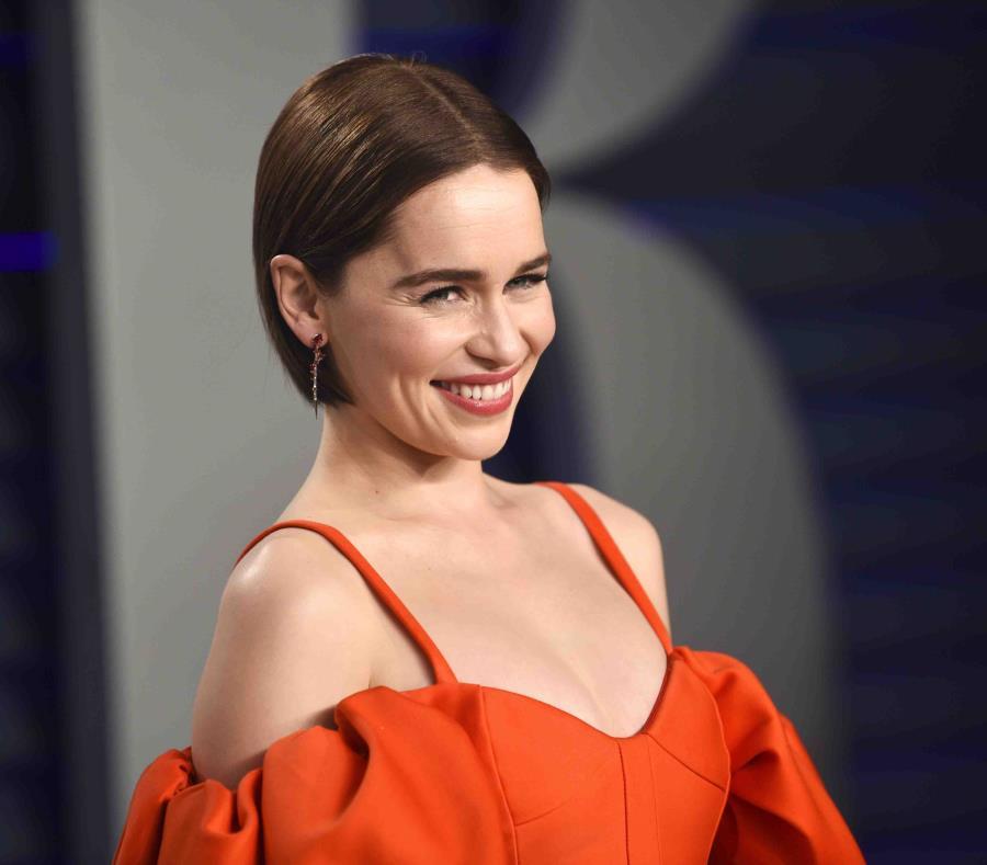 Emilia Clarke dijo que tuvo que tomar morfina. (EFE) (semisquare-x3)