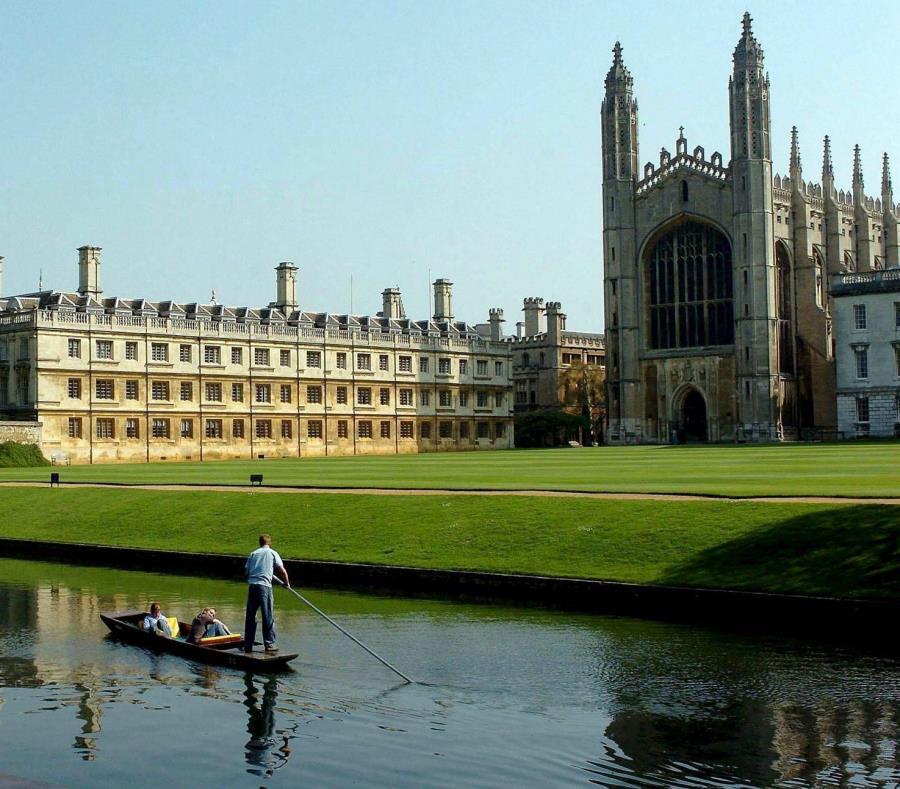 La Universidad de Cambridge en Inglaterra se fundó hace 800 años