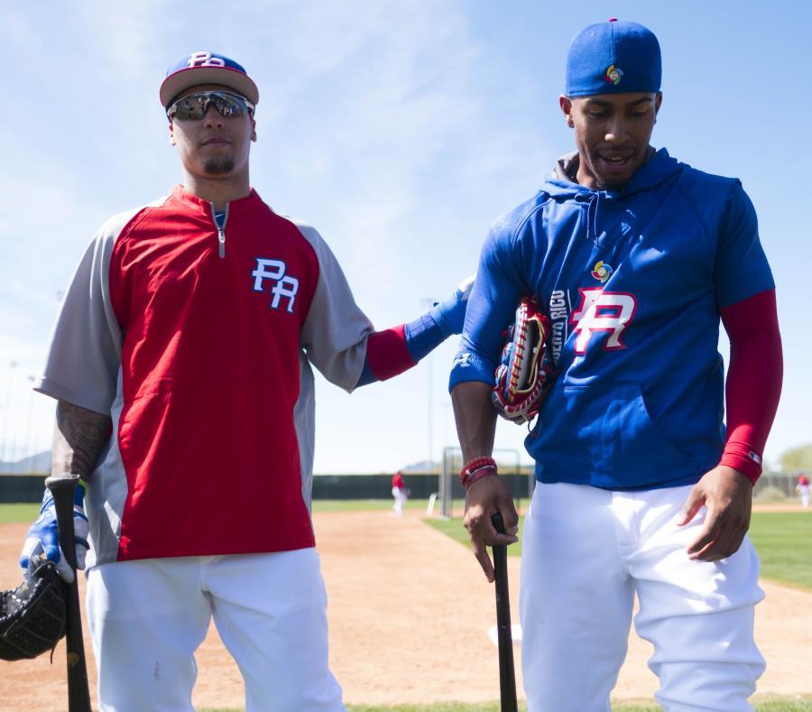 Javier Báez y Francisco Lindor no participarán en la Liga de Béisbol Profesional de Puerto Rico Roberto Clemente. (GFR Media) (semisquare-x3)