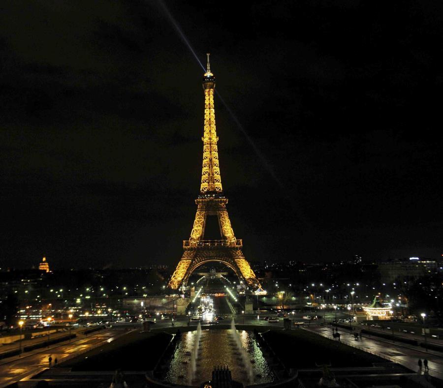 La Torre Eiffel se inauguró el 31 de marzo de 1889. (EFE) (semisquare-x3)