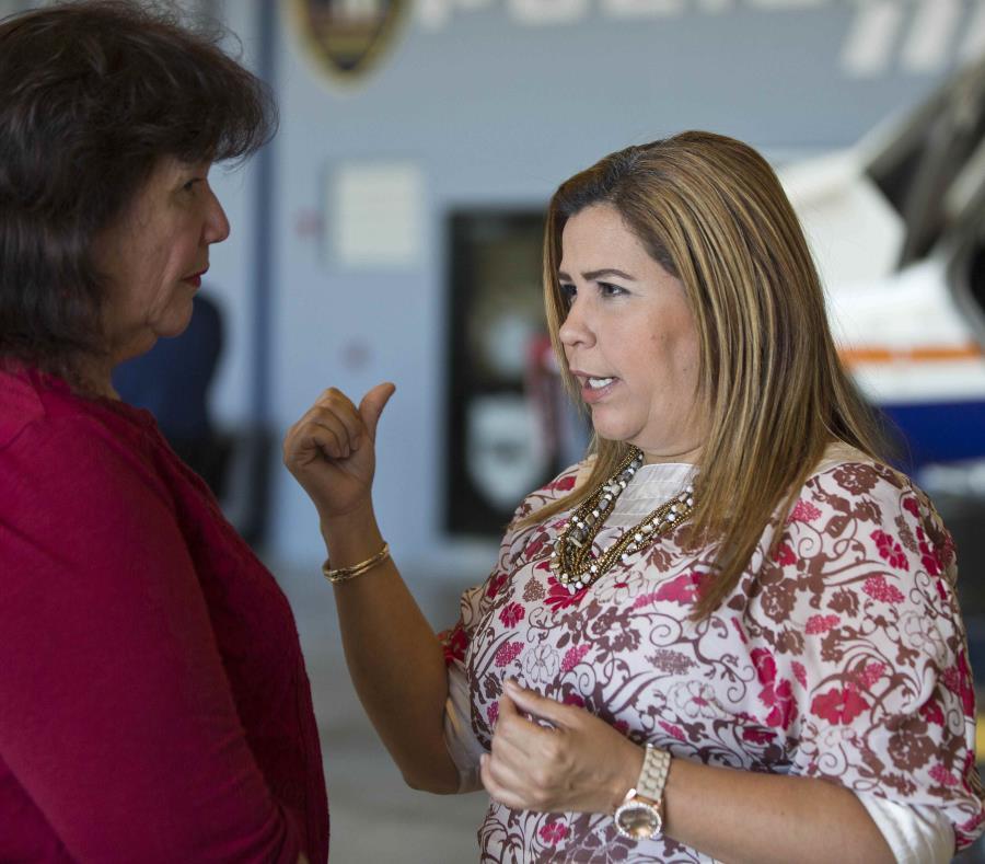 Jackeline Rodríguez desea crear una Comisión Especial para identificar mujeres para que aspiren a puestos electivos donde el PNP tiene vacantes. (GFR Media) (semisquare-x3)