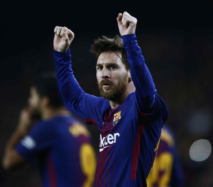 El estelar delantero argentino Lionel Messi comenzó el choque contra el Espanyol en el banco. (AP / Manu Fernández) (semisquare-x3)