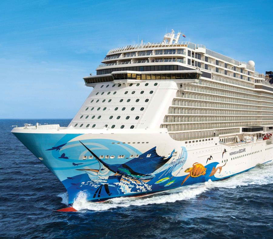 El crucero arribó hoy en Bahamas. (GFR Media) (semisquare-x3)