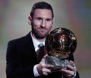 Lionel Messi conquista su sexto Balón de Oro como el mejor jugador del mundo