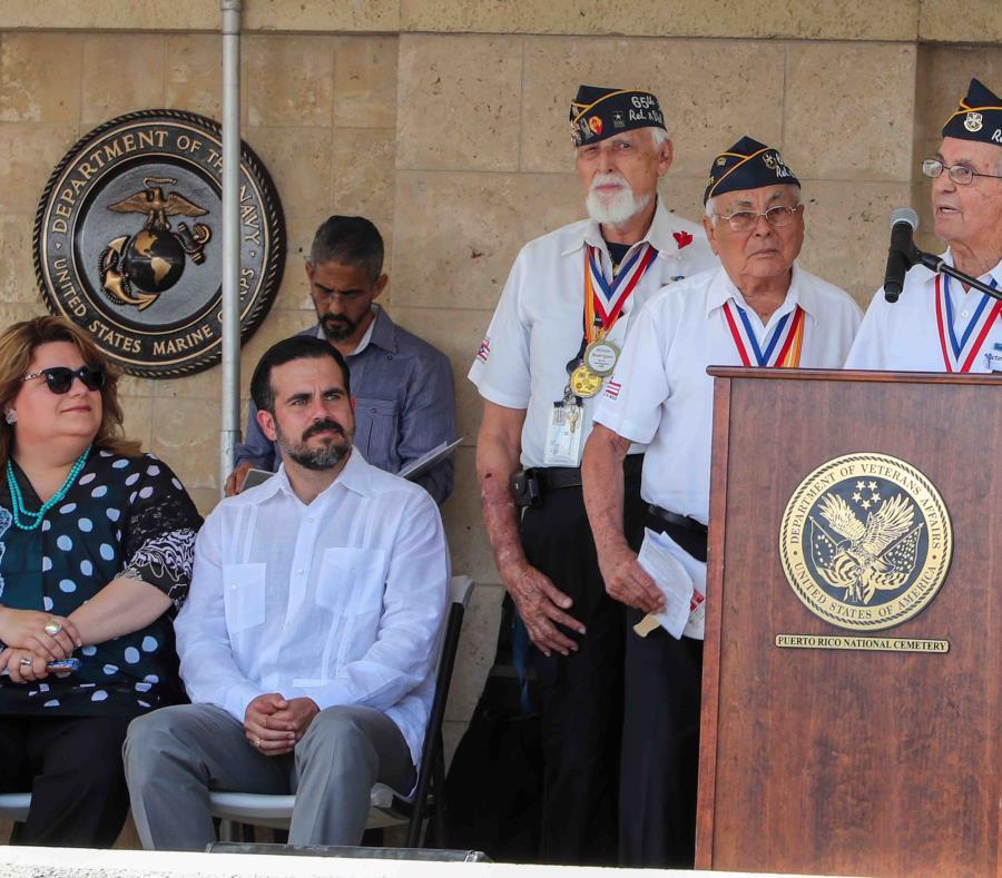 El gobernador reconoció los reclamos de los veteranos. Aseguró que su aspiración es mejorar los servicios a esa población. (semisquare-x3)